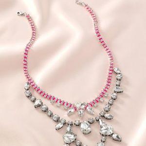 Stella & Dot Neon Dream Statement Necklace